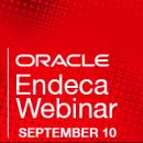 Oracle Endeca Webinar Best Practices