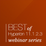 Hyperion Advanced Infrastructure 11.1.2.3