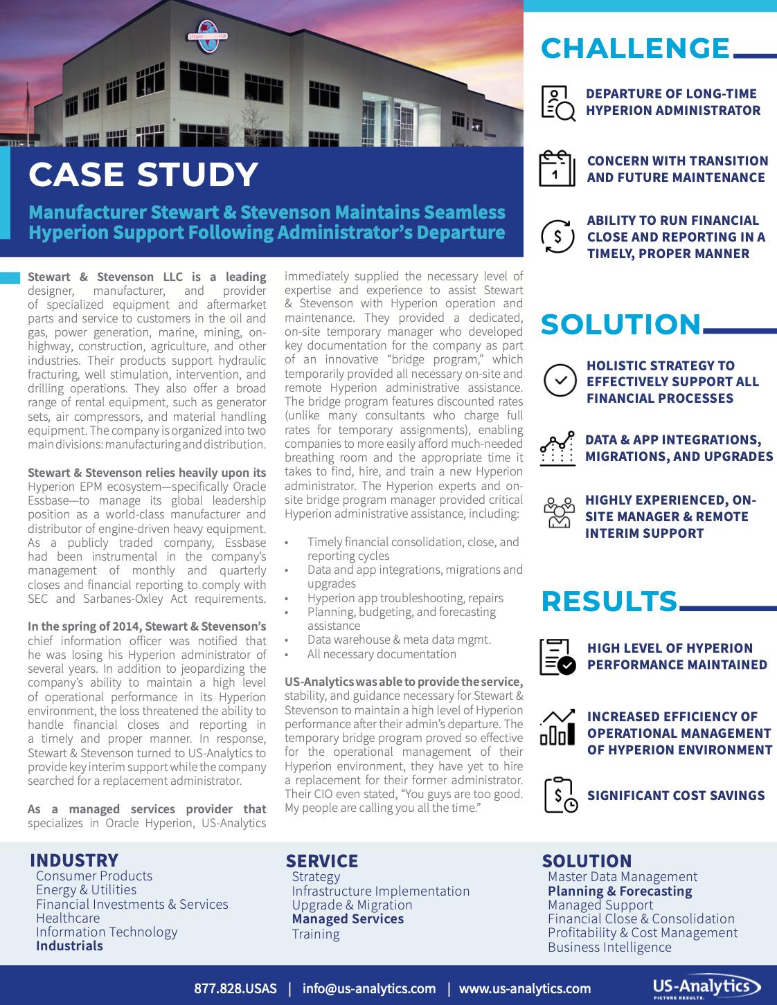 Stewart Stevenson Case Study Thumbnail