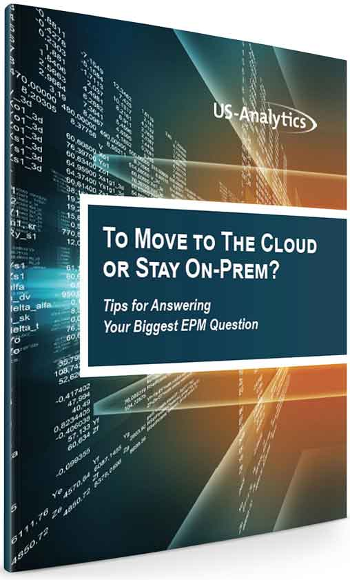 Migration To The EPM Cloud from ON Premise