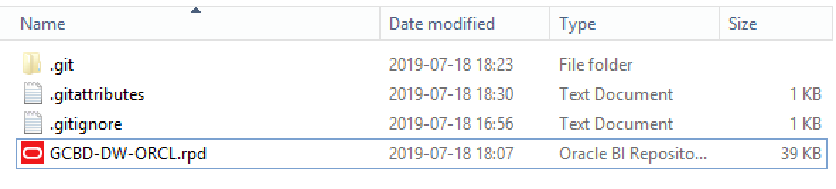 obiee comparing rpd files with git_2