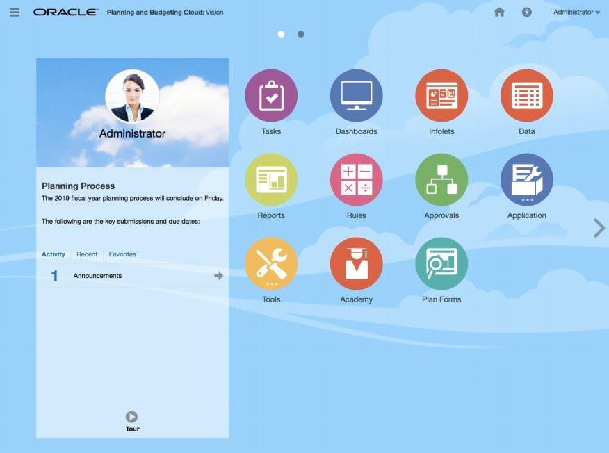 oracle epm cloud new look