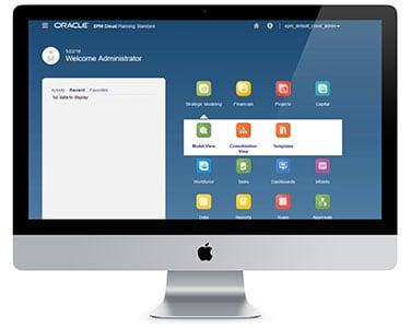 oracle epm cloud planning standard
