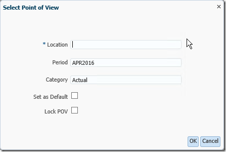 FDMEE Tutorial: Search Icon Missing from Select Point of