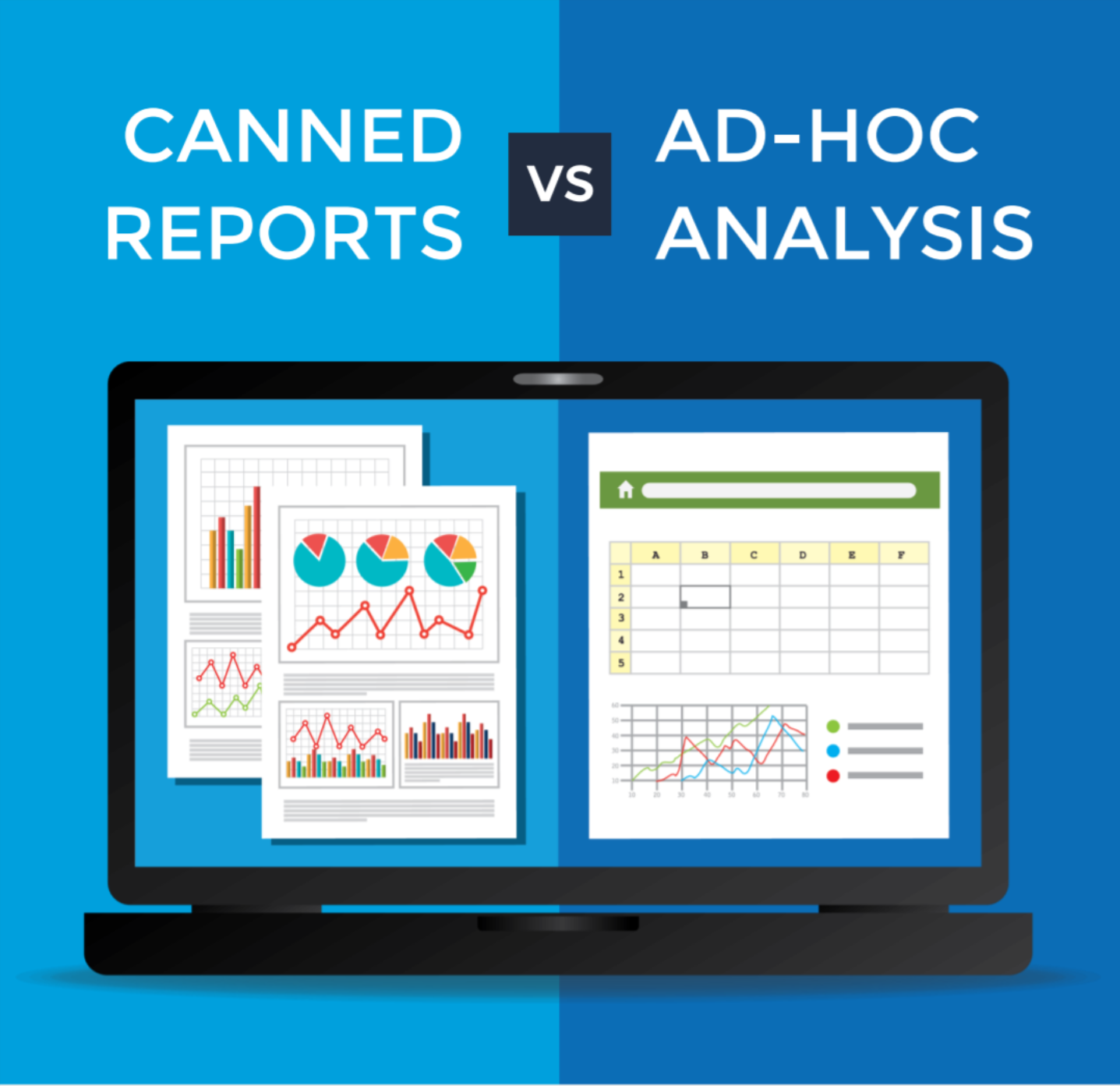 Canned Reports vs  Ad-hoc Analysis: Which to Use and When