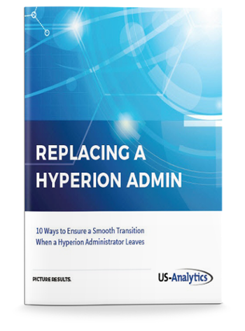 replacing a hyperion administrator - Hyperion Administrator